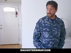 DaughterSwap - Two Dads Fuck Each other's Daughter