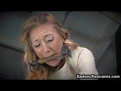 Helpless Girl Got a Rough Punishment!