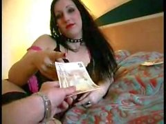 German emo girl fucked in the ass for money - amateur321