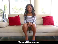 TeenyBlack Black Teen Fucked In First Time Video