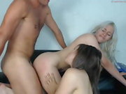 lucky guy threesome baysitters