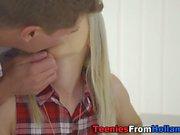 Blonde dutch whore tugs