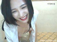 Korean Bj: In the Shower