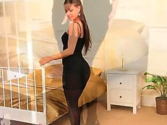 Czech woman with incredible lingerie