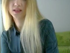 Fantastic Blonde Hairstyle and Hairplay, Long Hair, Hair