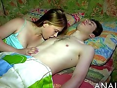 Tasting sweet teens luscious cunt