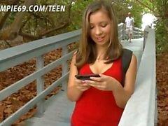 Schoolgirl Impregnated By Stranger