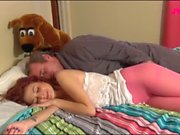 Jessica Robbin lets her daddy cums inside of her