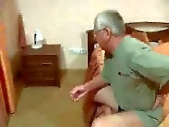 Old Dad fucks his Young Italian Wife