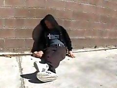 Homeless Drunk Guy Fucks Aubrey Addams