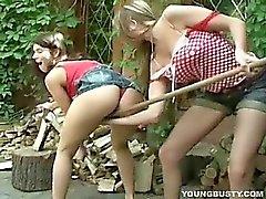 Our lesbian gardeners