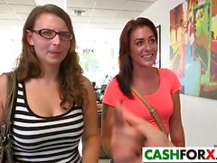 Banging hot girl for some bucks