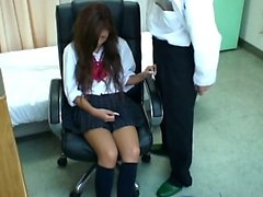 Spycam Schoolgirl misused by Doctor 3