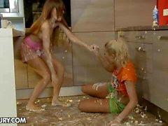 NudeFightClub presents Tina Blade VS Chary Kiss