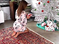 Not Sister Christmas Handjob