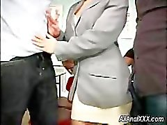 Teacher and student love anal and DP