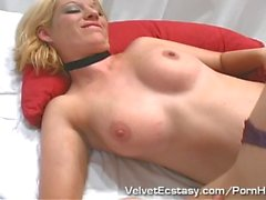 Two Girlfriends Kiss and Make Out Before Sharing A Cock