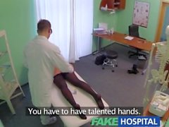 FakeHospital Massage turns into frantic sex as saucy loud patient screams