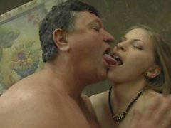 Avril Sun and Sophie Linx share grandpas cock 720p