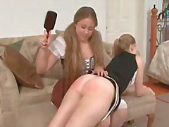 Naughty Girls Get A Good Spanking 5 By twistedworlds