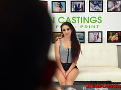 Real young beauty assfucking at bdsm casting