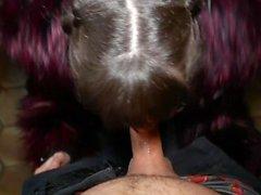 Grosse exhib de baise en urbex - Anna Furiosa