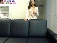 Asian amateur cums solo