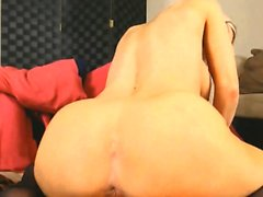 Cute Blonde Cant Stop Squirting From Anal And Pussy Fuck