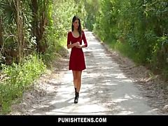 PunishTeens - Petite Teen Dominated and Fucked Hard