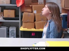 Shoplyfter - Shy Teen Patted Down & Fucked