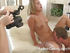 """Nubiles Casting - This girl will do anything"