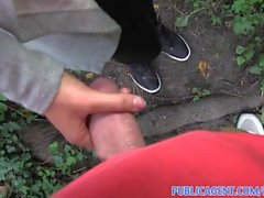 PublicAgent Sexy young women getting fucked outdoors by stranger