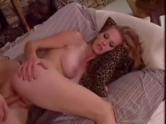He takes the young blonde in her pussy