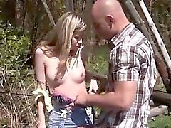 Beautiful blonde threesome and blonde interracial homemade A