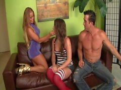 Couples Bang The Babysitter 8 - Scene 1