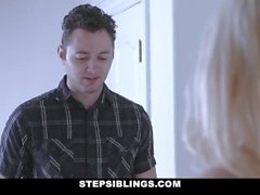 StepSiblings - Tight Teen Pays Her Stepbro With Sex
