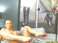 M@i_Marie Double Cam And Dildo Machine