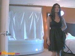 Fair Skin Beautiful Indian Girl Shanaya Getting Nude Exposing Big Tits
