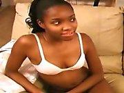 Ebony teen Chantail Noir has a boyfriend who didnt want...