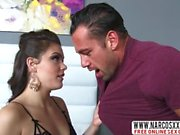 Tough Not Mother Kimber Woods In Stockings Makes Wild Fuck