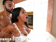 Sexy Ebony Chick Anya Ivy Gets Taken 2 Pound Town