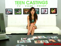 Petite cutie enjoys roughsex at sexaudition