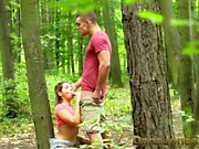Dane Jones Outdoor fuck in public young lovers