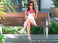 Jayden girls porn teen upskirt in Public Ftv