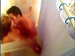 Hidden cam Shower sex my 20 years Sister