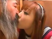 Young Asuka Hoshino enjoys sex in school uniform