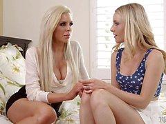 Blonde Lesbians Karla Kush And Nina Elle