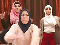 muslim hen party b4 arranged marriage, twerking, then the stripper arrives!