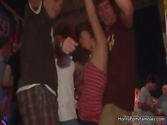 Crazy and horny party girl showing her part5