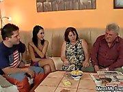 Mom and dad fucks my girlfriend